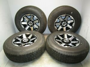 18 2018 Toyota 4runner Set Of Four 17x7 5 Wheels And P265 70r17 Tires Oem