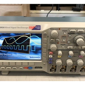 Tektronix 4 16 Channel 200mhz Mixed Signal Oscilloscope Mso2024