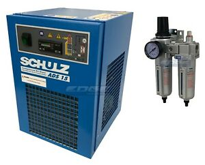 Schulz 15 Cfm Refrigerated Compressed Air Dryer 115v For 3hp Compressors Max
