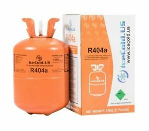 q1 cylinder R404a R404 R 404 404a Refrigerant 11lb Full And Factory Sealed