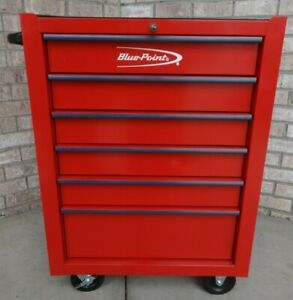 Blue Point Tool Box Krb2006fpqr Powder Red Nice Condition With Key