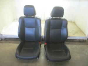 11 12 13 14 Dodge Charger Pair Leather Electric Front Seats W airbags Oem Lkq