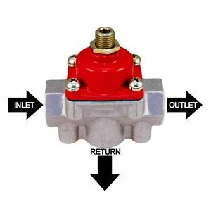 Bypass Fuel Pressure Regulator With Return Quick Fuel Carburetor 30 900