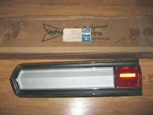 Nos Mopar 1966 Plymouth Fury Iii Wagon Tail Light Lamp Assembly