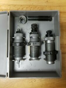 RCBS Carbide 3 Die Set for 45 ACPARGAP. 18915 + Shell Holder & 2 Seating Stems