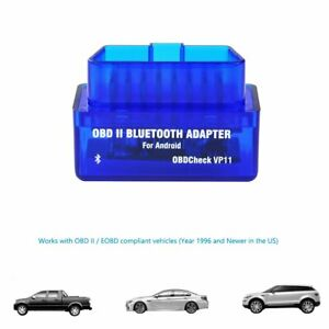 New Android Veepeak Mini Bluetooth Obd2 Scanner Obd Ii Car Diagnostic Scan Tool