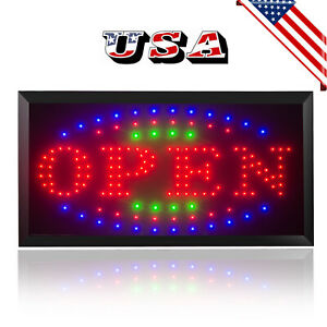 Best Bright Led Open Store Restaurant Business Cafe Bar Light Sign Neon Switch