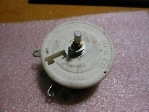 Ohmite Variable Resistor 0447 Nsn 5905 00 461 3187 16 Ohm 2 5a 100w