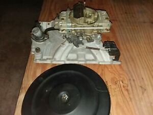 Pontiac Firebird Trans Am Gto Edelbrock Torker Intake Holley 650 Carburetor