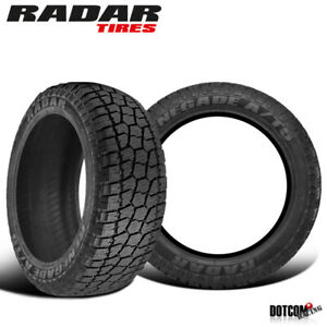 2 X New Radar Renegade At 5 35 12 5 17 121r All season Tough Tire