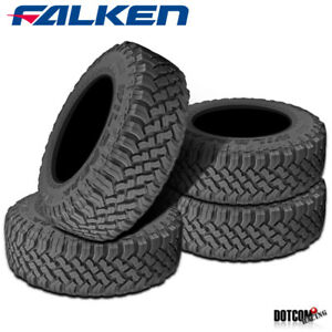 4 X New Falken Wild Peak M T Lt33x12 50r15 C 108q Toughest All Terrain Mud Tires