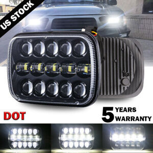 5x7 7x6 Led Headlight With H4 Harness For 95 97 Toyota Tacoma