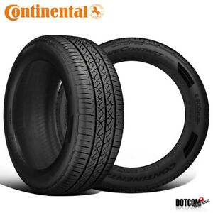 2 X New Continental Truecontact Tour 195 65r15 91h Tires