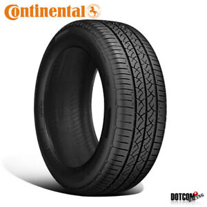 1 X New Continental Truecontact Tour 205 60r16 92t Tires