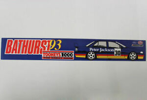 Glenn Seton Bathurst 1993 Sticker Peter Jackson Racing 30 Ford Eb Falcon