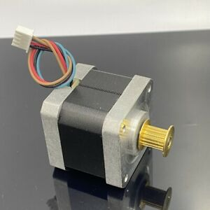 Nema17 1 8 Degree 42mm 2 phase 4 wire Stepper Stepping Motor Synchronous Pulley