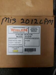 Whelen Strobe Beacon 2012hp New Old Stock