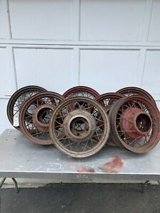 1932 Ford Spoke Rims 7 Available 4