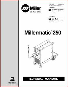 Millermatic 250 Technical Manual Eff With Kb054828