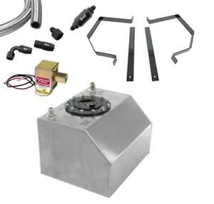 Summit Racing Fuel System Combo For Carbureted Engine Test Stand Sum csumsres003