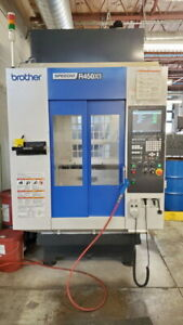 2016 Brother Speedio R450x1 Pallet Changing Compact Cnc Machining Center