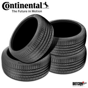 4 X New Continental Contisportcontact 5 225 45r17 91w Performance Summer Tire