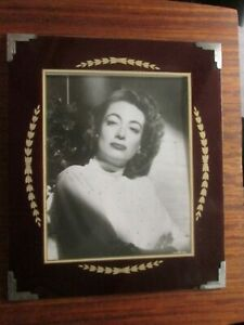 Art Deco Picture Frame Joan Crawford 13 X 11 In Photo Opening 9 X 7 In