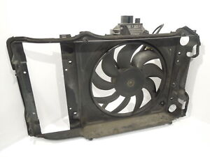 Audi A2 Front Fan Support Bracket Panel Electric Fan And Controller 8z0121207b