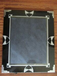 Art Deco Picture Frame 12 X 10 In Photo Opening 9 25 X 7 25 In