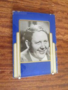 Art Deco Picture Frame Charles Laughton 6 X 4 In Photo Opening 4 X 3 In