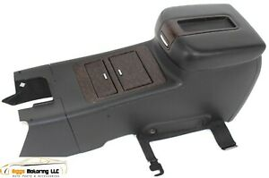 2007 2014 Chevy Silverado Pick Up Floor Center Console W Cup Holder Black