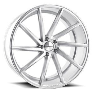 2 20x9 32 5x114 3 5x4 5 Vossen Cvt left Silver Wheels rims 20 Inch 61572