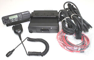 Motorola Mototrbo Xpr4550 Remote Mount Uhf 403 470 Mhz 25w 1000 Ch Connect