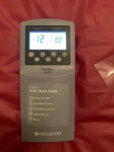 Used Nellcor Oximax N 65 Pulse Oximetry Without A Probe