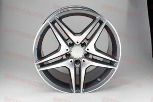 18 Mercedes Benz Double Spoke Amg Gunmetal Staggered Rims Fits Cls Class Cls550