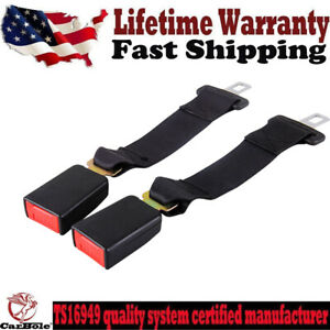 2 Car Seat 14 Seatbelt Safety Extender Belt Extension 14 Inch For Toyota Tacoma