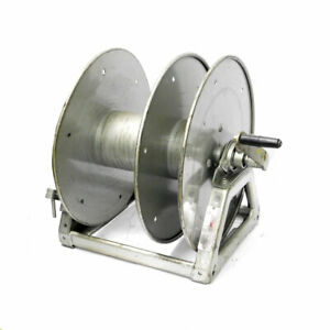 Hannay Wd 3 Whirlwind Split reel Large Capacity Cable Reel W Removable Handle