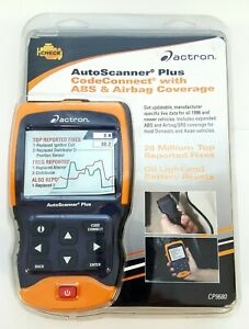 Actron Cp9680 Autoscanner Plus Codeconnect Abs Airbag Obd Ii Can Nip