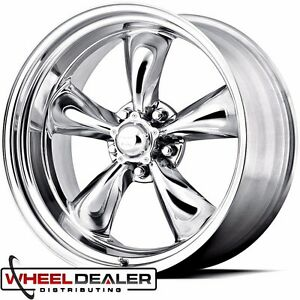 18x8 20x10 American Racing Torque Thrust Ii Wheels Rims Polished Aluminum