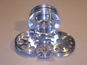 Underdrive Pulley Set Fits 90 93 Nissan 300zx Non Turbo