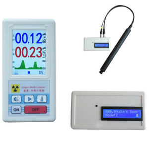 Digital Geiger Nuclear Radiation Detector Counter Gamma X ray Tester Meter Beta