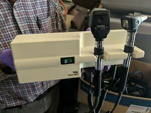 Working Welch Allyn 767 Series Transformer W Heads Otoscope Ophthalmoscope