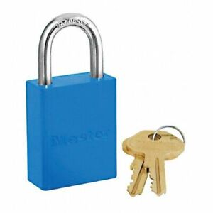 Blue Master Lock 6835 6 pk Keyed Alike