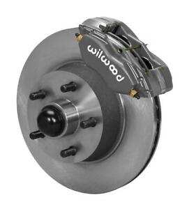 Wilwood 140 13476 Front Disc Brake Kit Fits 1965 1969 Mustang W 5 Lug Spindles