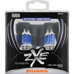 Headlight Bulb Silverstar Zxe Plastic Box Twin Headlight Bulb Sylvania