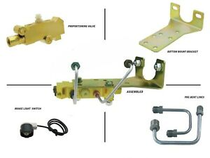 Proportioning Valve Disc Drum Under Floor Mount Bottom Mount Kit
