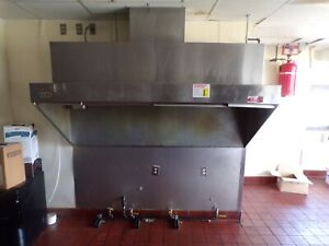Selling A Duo aire Exhaust Hood With Fire Suppression 81 Inches Long