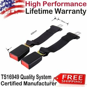 2car Seat 14 Seatbelt Safety Extender Belt Extension For Gmc Yukon Xl Dodge 2001