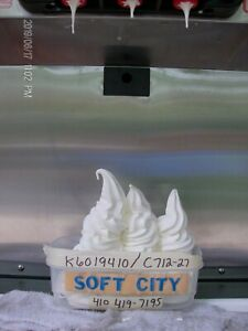 Taylor Ice Cream Soft Serve C712 27 Air Cooled 1 Phase 2006 Totally Rebuilt