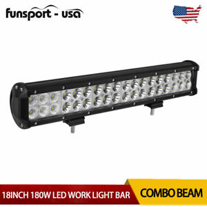 18 inch 630w Led Work Light Bar Combo Driving Offroad 4wd Ford Truck Atv Ute 20